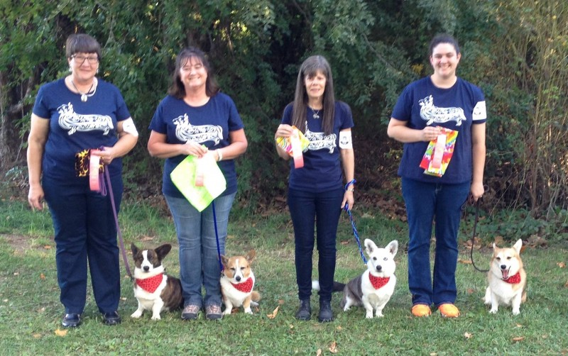 First Place Obedience Team!